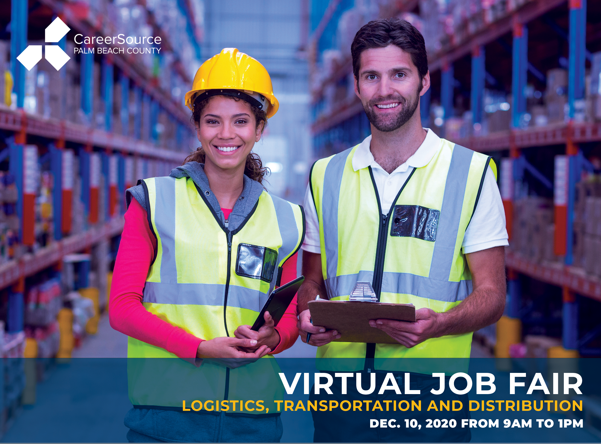 Jobs with 11 Area Employers Available at Dec. 10 Logistics/Transportation/Distribution Industries Virtual Hiring Event